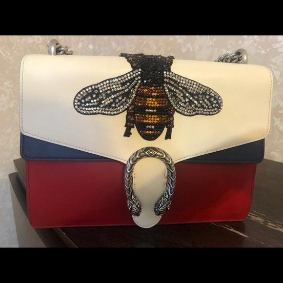 Gucci Handbags - Gucci Dionysis Bag with Bee
